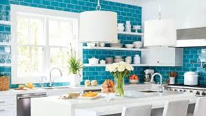 blue and white kitchen tiles light