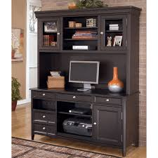 home office set. large picture of carlyle h371 2 pc home office set tall desk hutch hd t