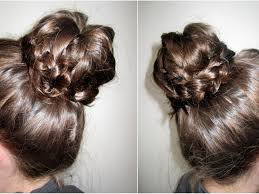 Sock Bun Hair Style how to braided tip sock bun youtube 8758 by wearticles.com