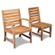 Outdoor Teak Chairs BlueSky Furnishings Custom Teak Furniture