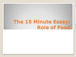 expository essay what is an expository essay an expository essay  4 the 15 minute essay role of food