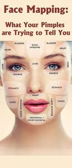 Acne Placement Chart 60 Meticulous Pimple Location Chart
