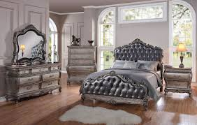 Mirrored Headboard Bedroom Set Queen Bedroom Sets High Quality Product With Affordable Price