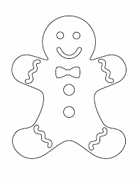 Small Picture Gingerbread man coloring pages printable best 25 gingerbread man