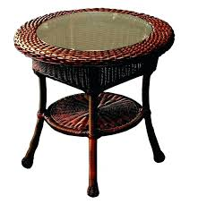 wicker patio side tables overwhelming coast patio side table ideas able stylish wicker side table outdoor