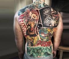 Marvel Tattoo By Myskow Slawomir Photo 22604