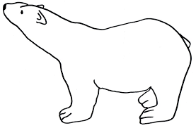 Small Picture Polar Bear Template Printable Coloring Coloring Pages