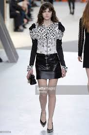 louis vuitton 2015. a model walks the runway at louis vuitton autumn winter 2015 fashion show during paris