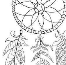 Small Picture Free Printable Dream Catcher Coloring Page The Graphics Fairy