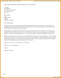 Sample Referral Cover Letter Personal Trainer Referral Letter Template Chanceinc Co