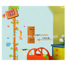 Kids Wall Growth Chart Wholesale Animals Kids Height Growth Chart Wall Sticker For Kids Room Buy Wall Sticker For Kids Room Kids Height Growth Chart Wall Sticker Height
