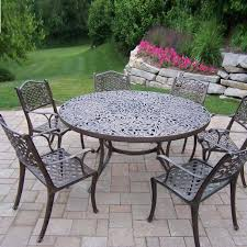comfy cast aluminum patio dining sets f65x on nice inspirational home designing with cast aluminum patio dining sets