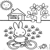 Kleurplaten Van Nijntje Voor De Jongere Kinderen Kleurplaatjecom