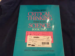 Developing Critical Thinking Through Science Book               Amazon com Developing Critical Thinking Through Science Book   Grade      June Main   Paul Eggen                 Philosophy  Amazon Canada