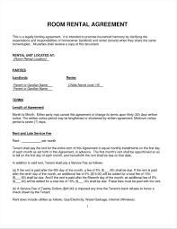 Sample House Rent Contracts Rental Contract Template Uk RESUME 7