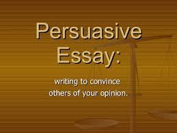college persuasive essay