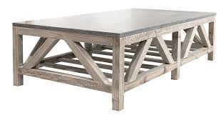 prepossessing orient express furniture 7302 blue stone coffee table