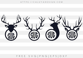 Every week we add new premium graphics by the thousands. Free Antler Monogram Svg Png Eps Dxf By Caluya Design