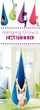 Awesome Kids Hammock + a great backyard idea + playroom + interior design + hanging  chair