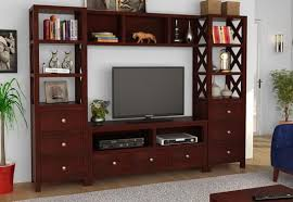 Buy Pippin Tv Unit Mahogany Finish online in India at best
