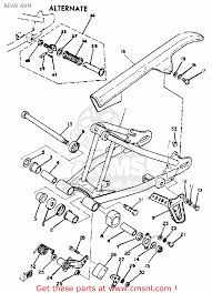 Rear arm parts list