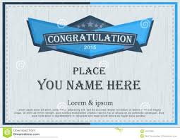 Congratulation Certificate Template Congratulation Certificate Template