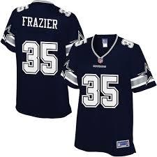 Women's Line Dallas Pro Frazier Nfl Cowboys Jersey Player Navy Kavon