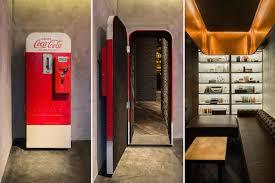 Inside Vending Machine New Bar Inside Coke Vending Machine Fubiz Media