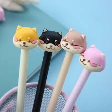 <b>36 pcs</b> per <b>set Korean</b> Style Cartoon Animal Signature Pen <b>Cute</b> ...