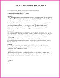 Job Recommendation Letter Sample For A Friend Introduce Self Recommendation Letter For College From Friend