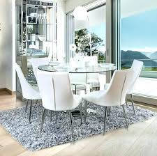 white table chairs round glass dining table with chairs round glass top dining table set furniture of table with pueblo white chairside table