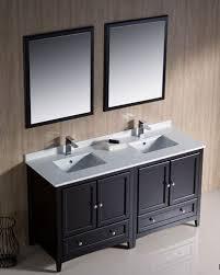 traditional double sink bathroom vanities. Fresca-Oxford-60-Espresso-Traditional-Double-Sink-Bathroom- Traditional Double Sink Bathroom Vanities E
