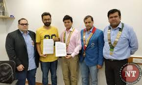 the memorandum of understanding was signed by national president of round table india dhruv dalmia and owner of ketto org varun sheth at the ketto office