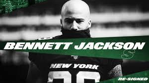 Jets Re-Sign S Bennett Jackson