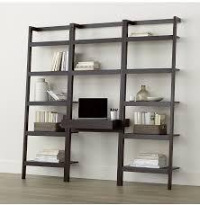 diy ladder shelves a crate and barrel