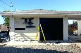 cosy painting garage door painting garage door black in simple home decoration ideas painting garage door
