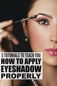 if you want to know how to apply eyeshadow like a pro this collection of