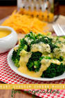 baked broccoli   turkey with cheddar cheese sauce