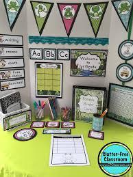 Frog Themed Behavior Chart Frog Themed Classroom Ideas Printable Classroom