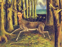 epph kahlo s the wounded deer