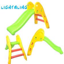 Plastic Slide Set Slides For Toddlers Kids Sliding Indoor Outdoor Fun Toys Folding Baby