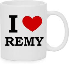 I Heart Remy (Love) Official Mug: Amazon.co.uk: Kitchen & Home