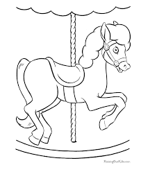 Small Picture Horse Coloring Pages For Toddlers Coloring Pages