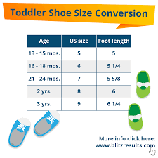 Big Kids Shoe Size Chart Kids Shoe Sizes Conversion Charts Size By Age How To