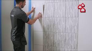 Johnson Tiles Cristalgrip Wandfliesen Trägergewebe Breite 50 Cm