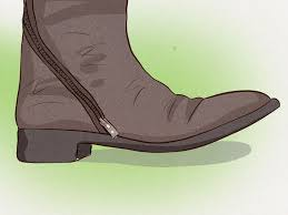 how to stretch the calves of boots with zippers