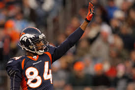 Denver Broncos Brandon Lloyd And Mile Highs 2011 2012 Wide