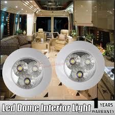 12 Volt Ceiling Lights For Rv Details About 2x 12v 3w Interior Rv Marine Led Recessed Ceiling Lights Rv Roof Kitchen Light