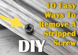 tool to remove stripped screws. 10 ways to remove stripped screws tool