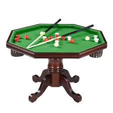 round pool table with pers and per pool table